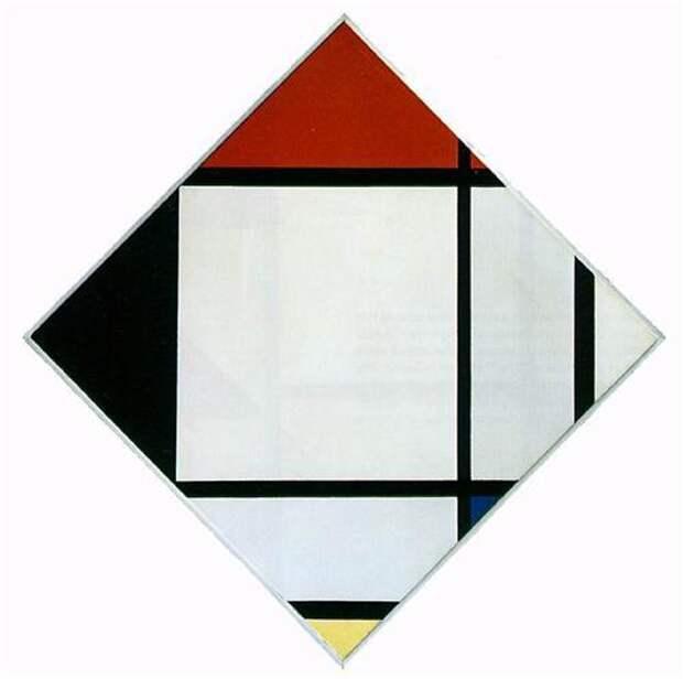 Пит Мондриан - основоположник абстрактной живописи