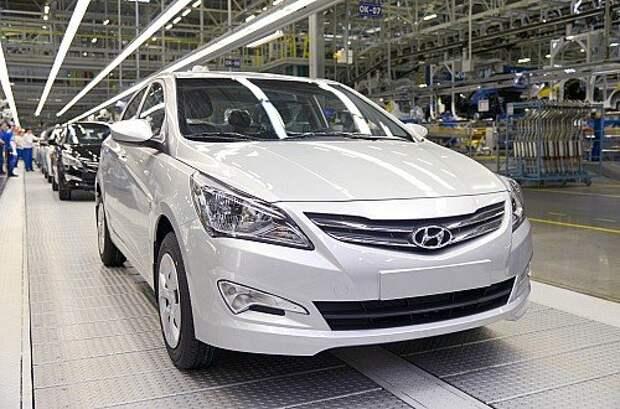 Hyundai Solaris - бестселлер российского авторынка