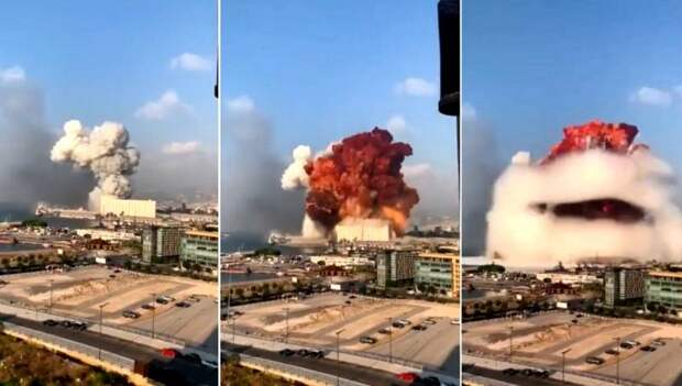 Мощность взрыва, который уничтожил порт Бейрута, оценили в 1,8 килотонны