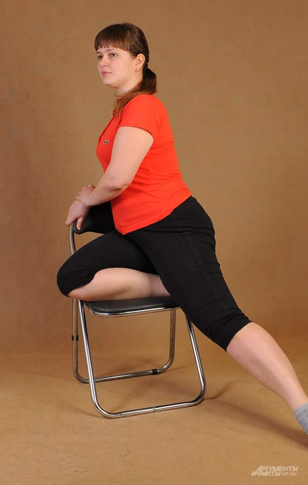 В уютном кресле. Гимнастика для всех групп мышц