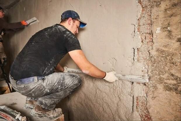 Учимся делать ровные стены самостоятельно