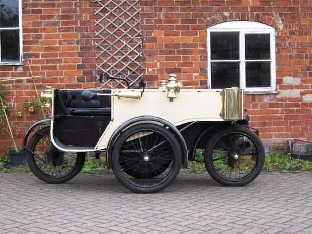 Самые странные автомобили в истории: Sunbeam-Mabley Cycle Car