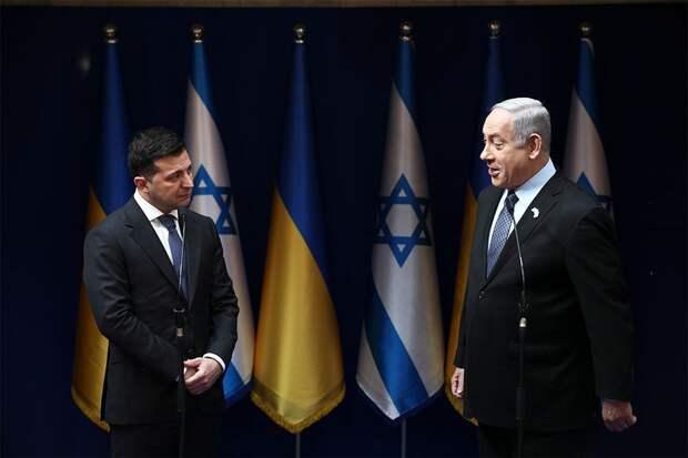Украина просит Нетаньяху стать посредником в переговорах с Россией