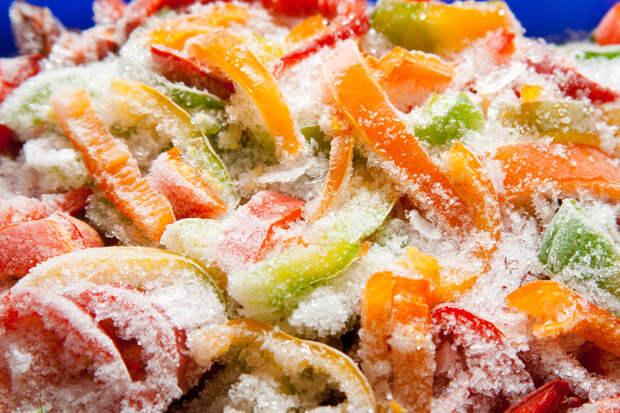 Правильная заморозка овощей, фруктов, ягод и трав в домашних условиях