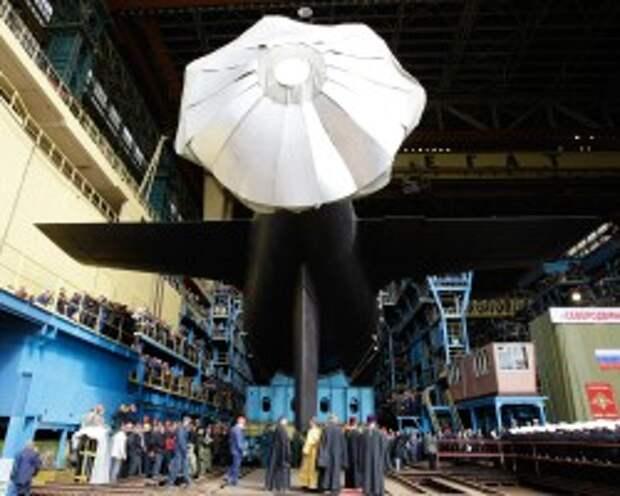 Российский флот получил первую подлодку проекта «Ясень»