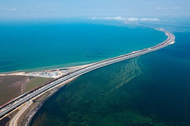 Вид на мост с кубанской стороны. Фото Виталий Тимкив/ специально для «Новой»