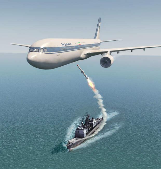 «Никогда не извинюсь»: как США сбили иранский лайнер...