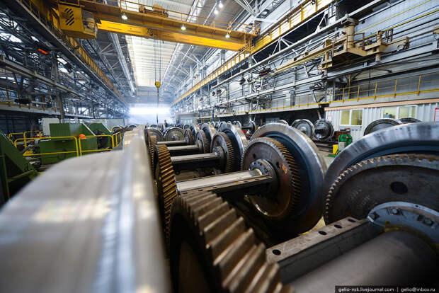 Как собирают электровозы. Завод