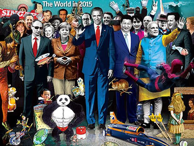 Загадочный рисунок на обложке The Economist, принадлежащего семье Ротшильдов, намекает на их глобальные планы