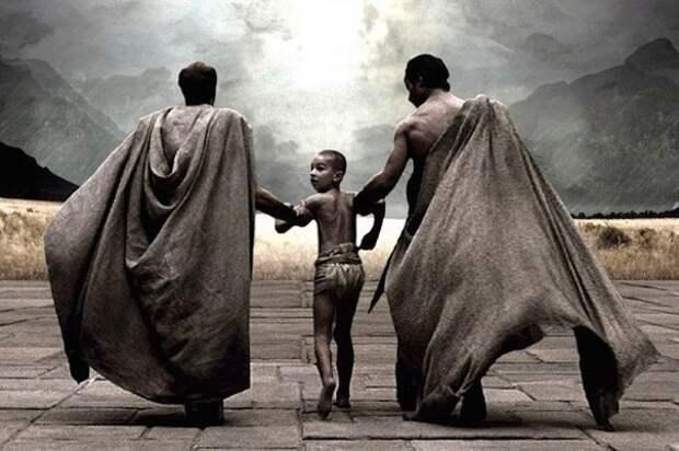 Система Агогэ - воспитание спартанцев