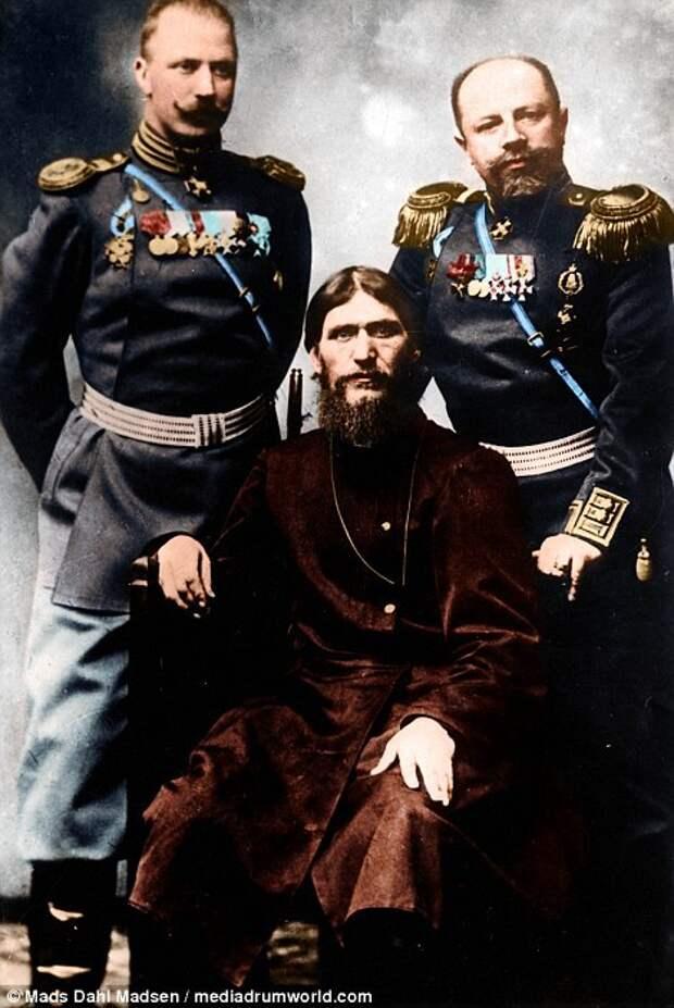 Цветные фотографии Григория Распутина