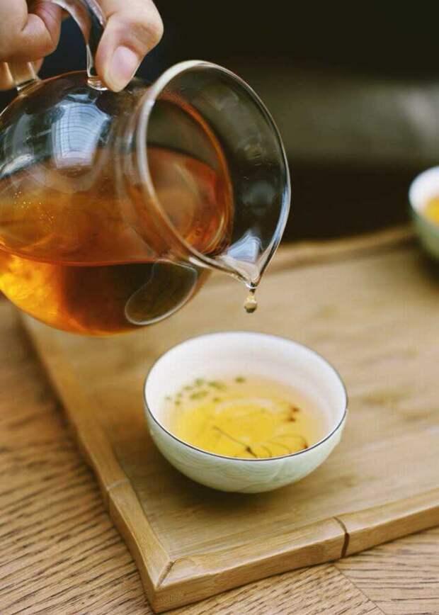 Белый чай помогает взбодриться. Фото: Татьяна Яковлева