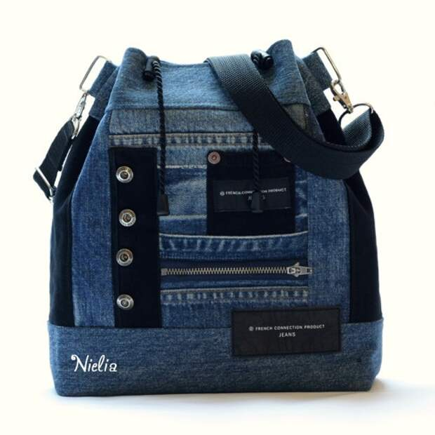 Nielia - сумки из джинсов (часть4)