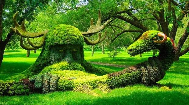 Там, где деревья и кусты превратились в сказку. Фантастическое топиарное искусство