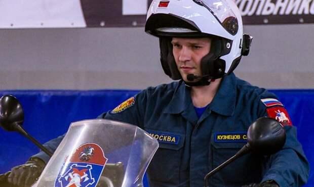 Мотоспасатели Москвы готовятся к открытию сезона