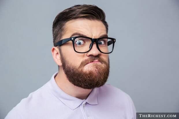 2. Борода помогает победить в игре «Кто кого пересмотрит» борода, факты