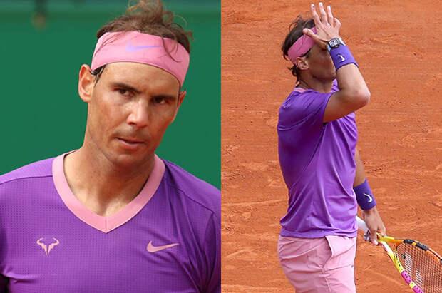В сети обсуждают спортивные обтягивающие розовые шорты Рафаэля Надаля