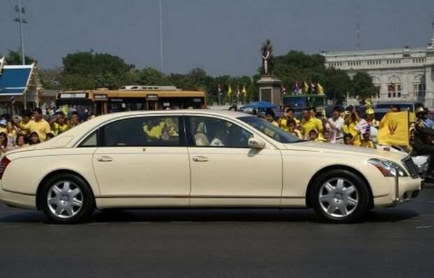 5. Maybach 62 Limousine лимузин, правительственный автомобиль