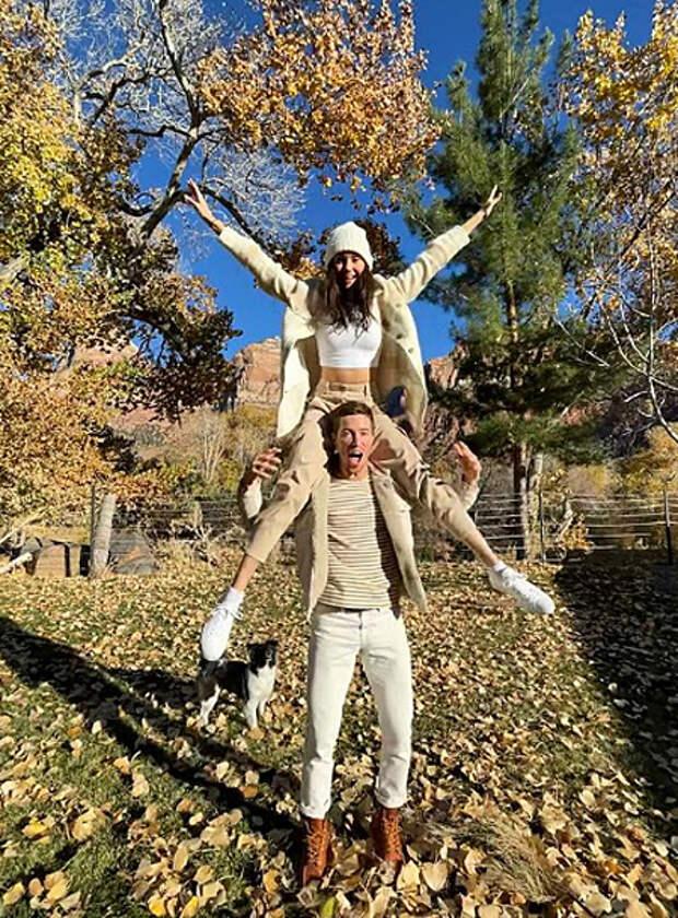 Нина Добрев планирует свадьбу с олимпийским чемпионом Шоном Уайтом