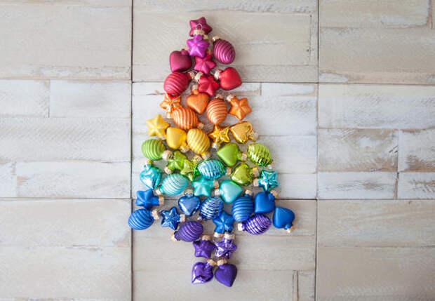 Как украсить елку: 17 готовых идей декора