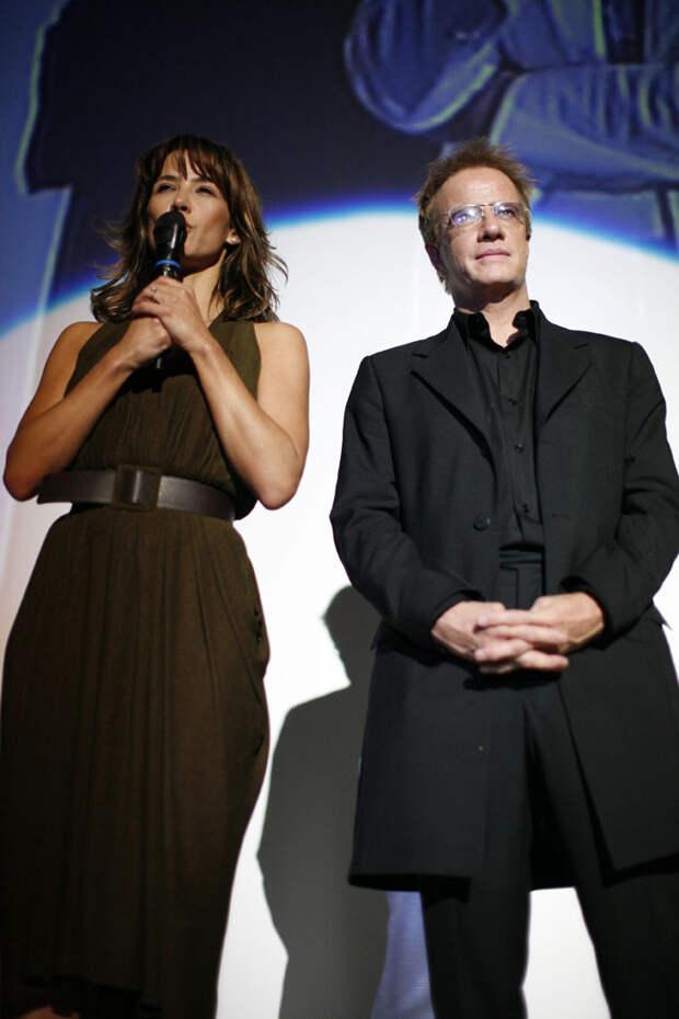 Софи Марсо  и Кристофер Ламберт на кинофестивале Golden Orange (Анталия (Турция), октябрь 2007).