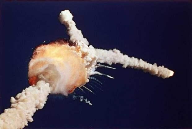 Взрыв шаттла «Челленджер»