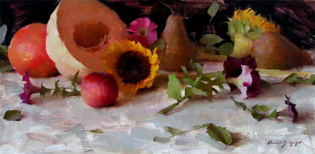 Summer Fruit and Flowers sm (700x342, 95Kb)