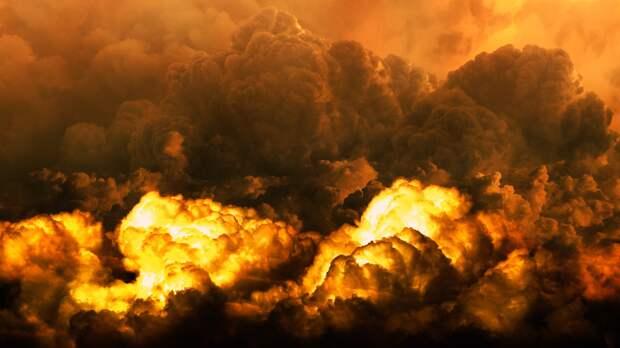 Под Мурманском произошел взрыв на складе боеприпасов