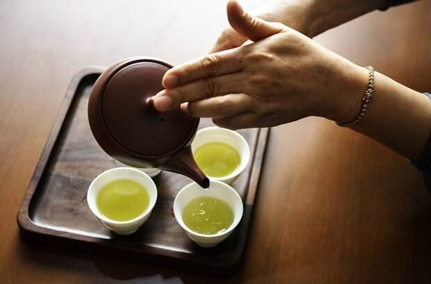 Чудо родом из Китая: зелёный чай