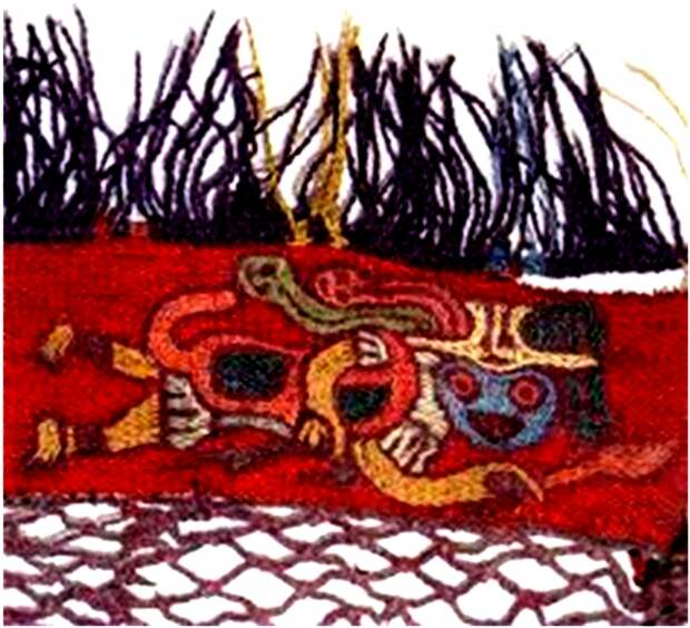 Рис. 4. Образец ткани Наска