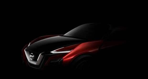 Концепт кроссовера Nissan