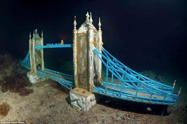 Подводный музей «Аллея вождей» на мысе Тарханкут