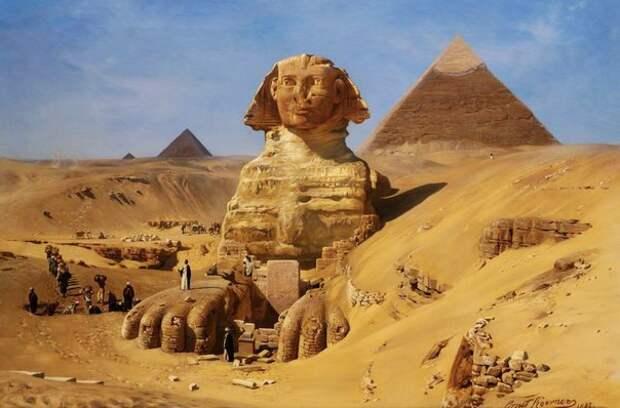 15 малоизвестных фактов о египетском Сфинксе