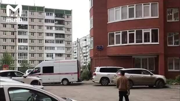 К дому пермского стрелка приехали городские спецслужбы. Бекмансуров жил в квартире в...