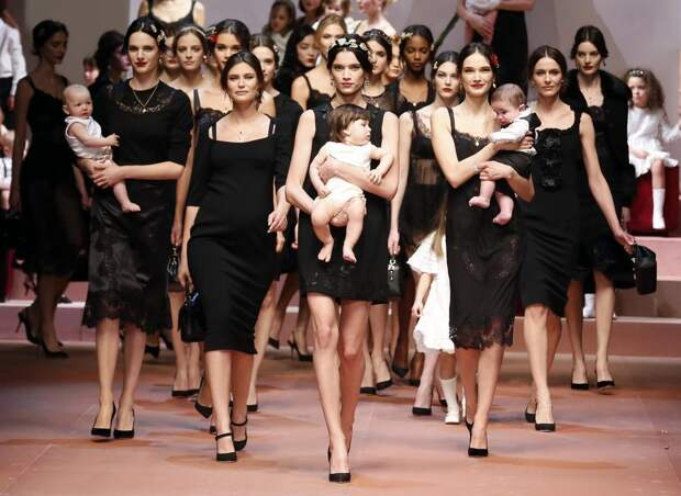 Лучшие фотографии года в мире моды