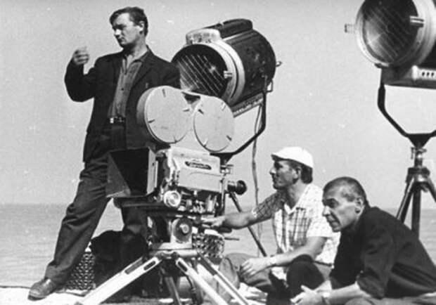 Фотографии со съёмочной площадки фильма «Белое солнце пустыни».1969 год.