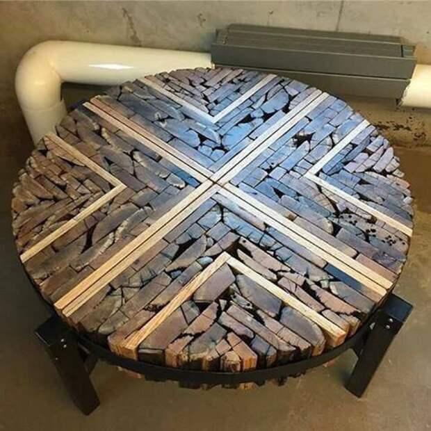 сборные деревянные столы