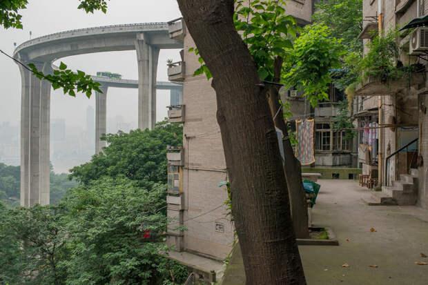 Чунцин - урбанистические джунгли в центре Китая