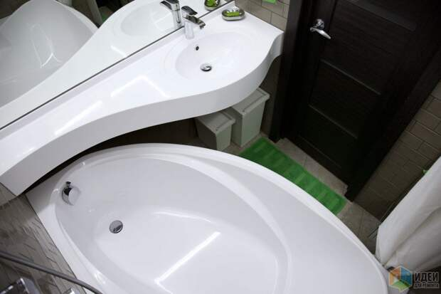 Ванна и раковина литьевой мрамор