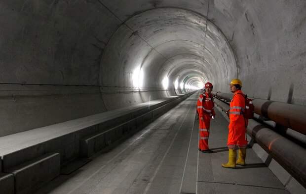 Готардский базовый тоннель