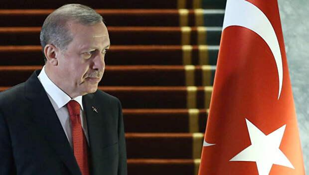 Президент Турции Реджеп Тайип Эрдоган. Архивное фото