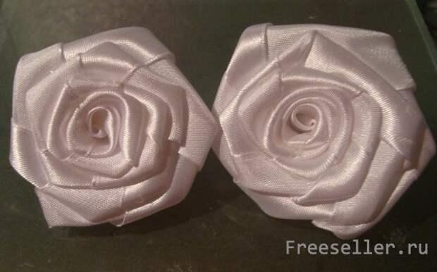 Белоснежные розы с сеткой