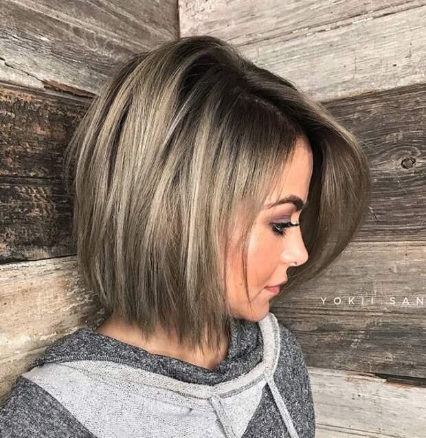 Модные стрижки на средние волосы 2019