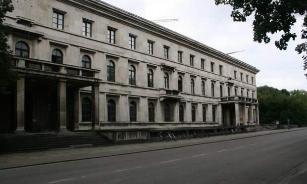 Фюрербау (Дом фюрера) в Мюнхене