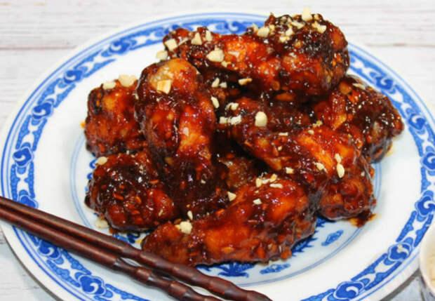 Жарим курицу по-китайски
