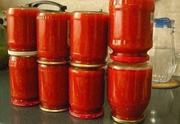 """Томатный соус """"Кубанский"""" (заготовка на зиму) Домашний кетчуп"""