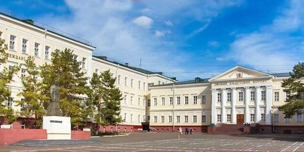 Приёмная кампания в омский кадетский корпус началась в аварийном здании на Ленина