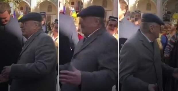 Тереза Мэй отдыхает! Жириновский сплясал с узбеками (ВИДЕО)