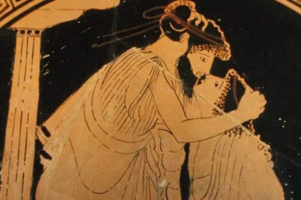 Древнегреческая роспись, мужеложество