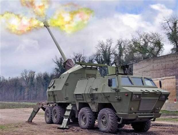 В США провели стрельбы из модернизированной сербской гаубицы «Нора»